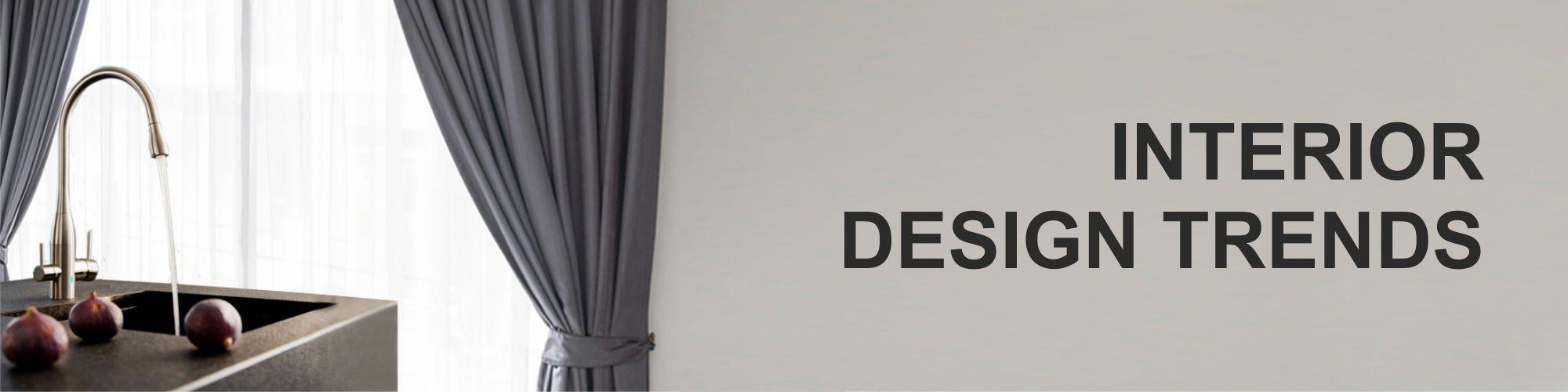 interior design trends faucet